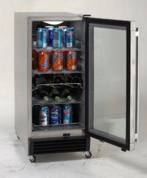 Avanti-Model-OBC33SSD-3.2-CF-Built-In-Outdoor-Refrigerator-with-Glass-Door
