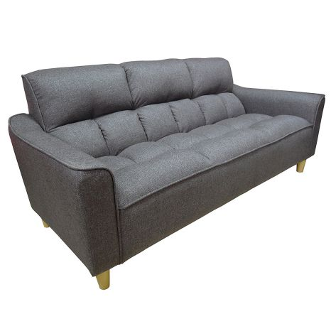 Beverly Furniture Lorenzo Loveseat Sofa, Gray