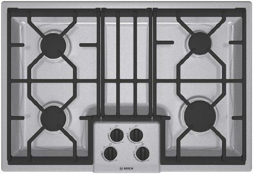 Bosch NGM3054UC300 30 Stainless Steel Gas Sealed Burner Cooktop