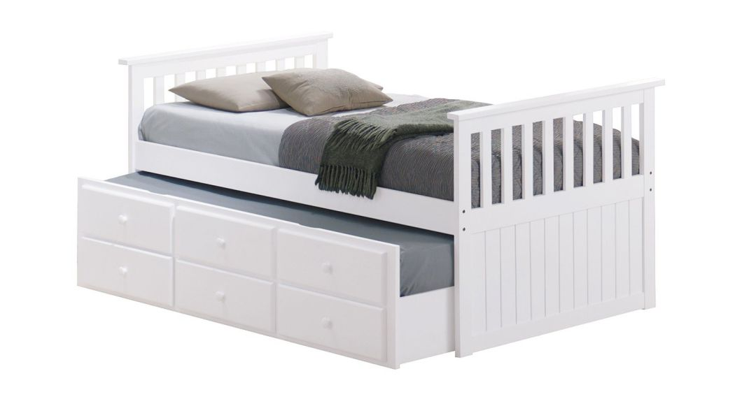 Broyhill-Kids-Marco-Island-Captains-Bed-with-Trundle-Bed-and-Drawers-White