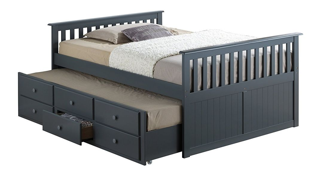 Broyhill-Kids-Marco-Island-Full-Captains-Bed-with-Trundle-Gray