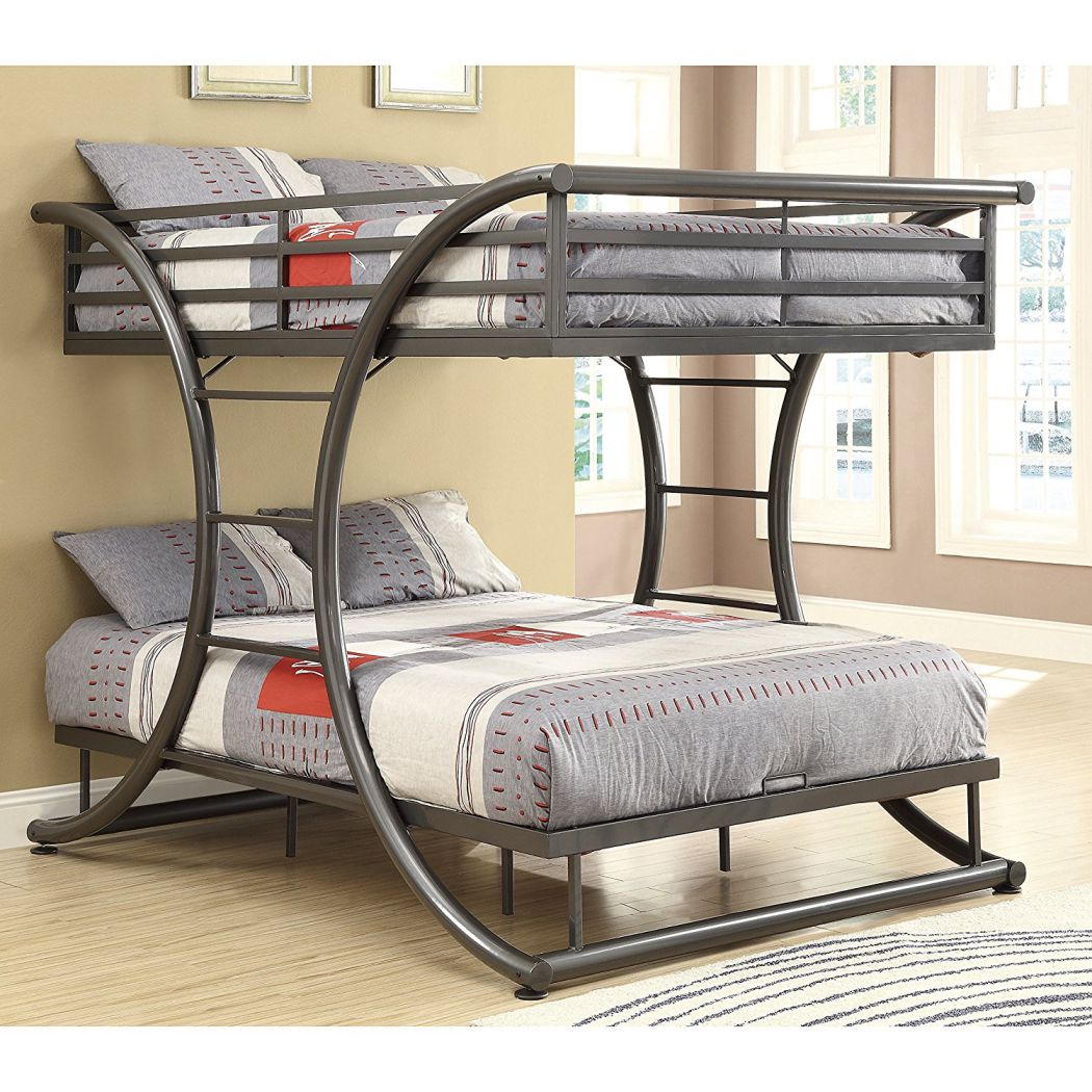 Coaster-Home-Furnishings-460078-Bunk-Bed-Gunmetal