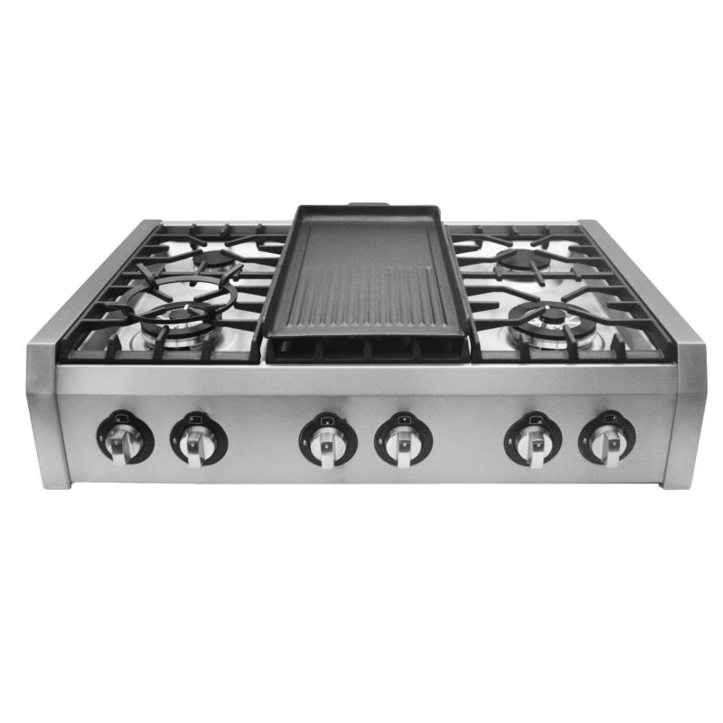 Cosmo-S9-6-36-in.-Professional-Style-Gas-Rangetop