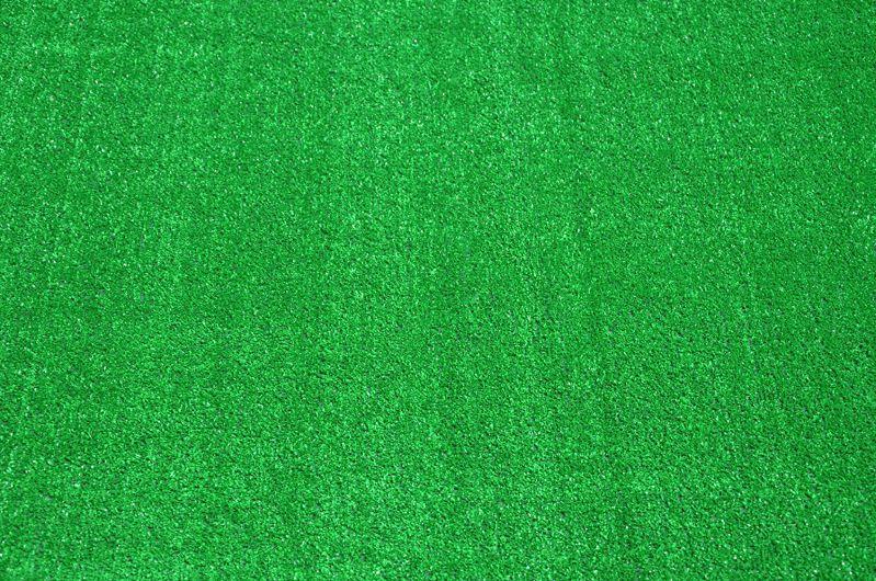 Dean Flooring Carpet Green Artificial Grass Turf Area Rug