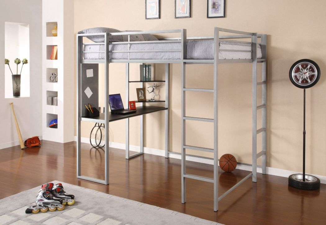 Dorel-Home-Products-Abode-Full-Size-Loft-Bed-Silver