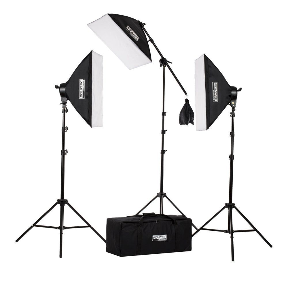 Fovitec StudioPRO Softbox Lighting Kit