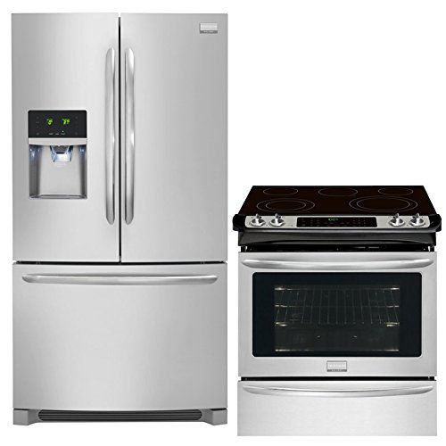 Frigidaire Gallery 2-Piece Smudge-Proof Stainless Steel Kitchen Package