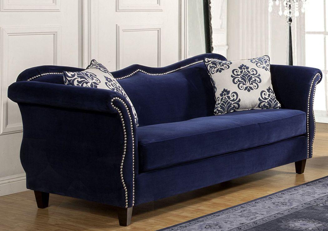 Furniture-of-America-Athena-Glamorous-Sofa-Royal-Blue