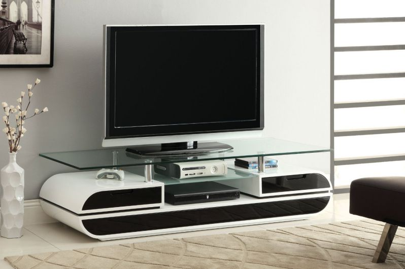 Furniture of America Glenn Contemporary TV Console