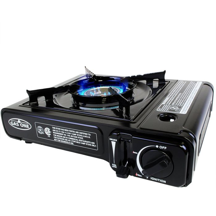 GAS-ONE-GS-3000-Portable-Gas-Stove-with-Carrying-Case-9000-BTU-CSA-Approved-Black