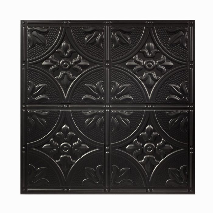 Genesis-Easy-Installation-Antique-Lay-In-Black-Ceiling-Tile