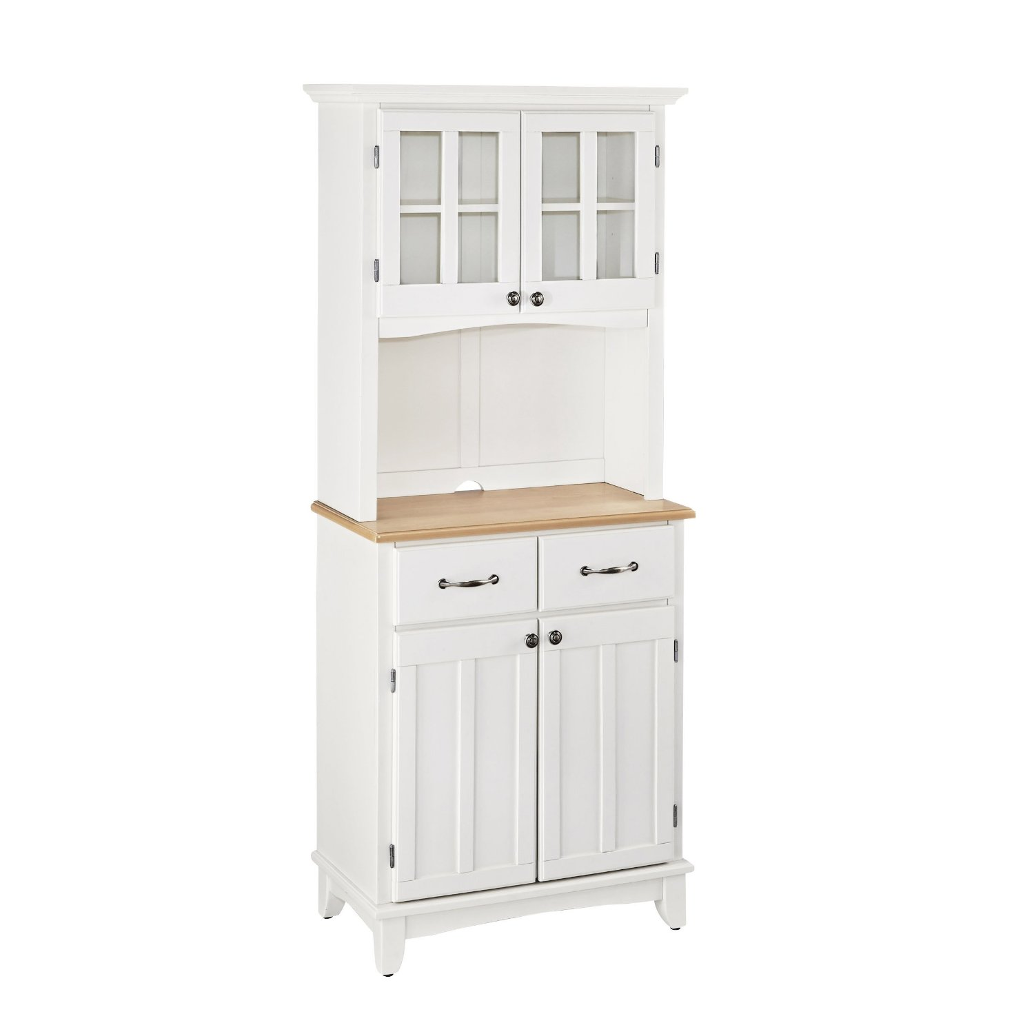 Home Styles 5001-0021-12 Buffet of Buffet 5001 Series Wood Top Buffet Server and Hutch