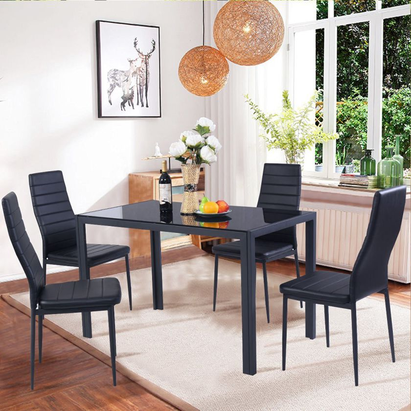 Carmen 4 Table | Contemporary dining room sets, Furniture ...
