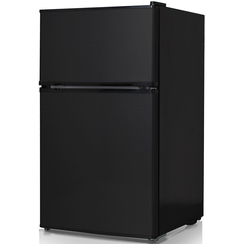 Keystone KSTRC312CB Compact 2-Door Refrigerator
