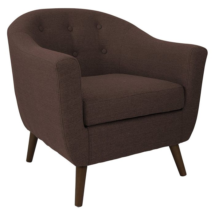Lumisource Rockwell Espresso Accent Chairs
