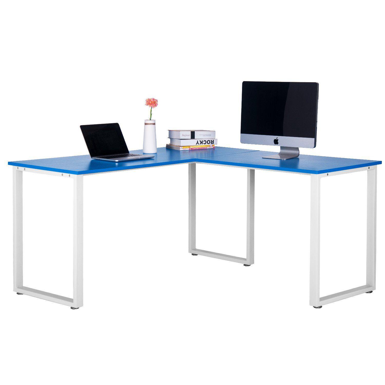 Merax L-Shaped Office Workstation Computer Desk