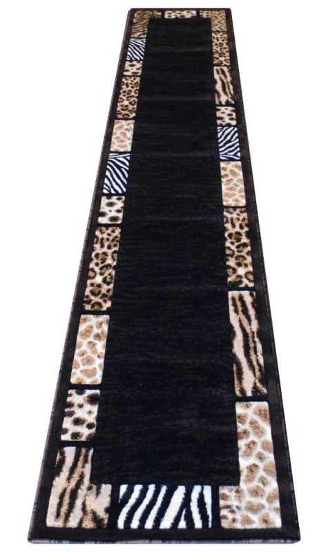 Modern Animal Print, Runner Area Rug
