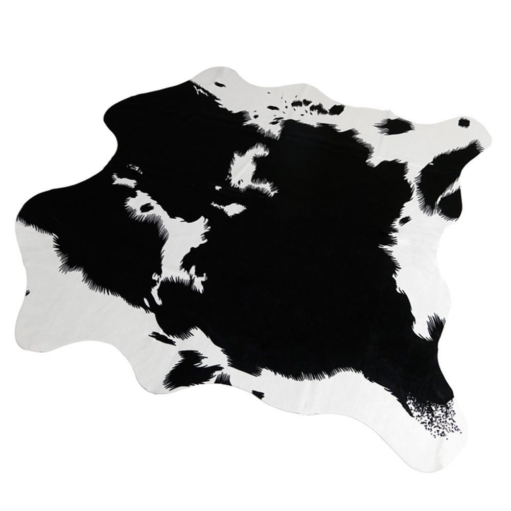 Must Fashion Non-slip Cow Print Rug