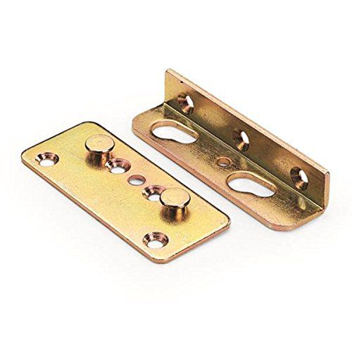 No Mortise Bed Rail Fittings Set Of
