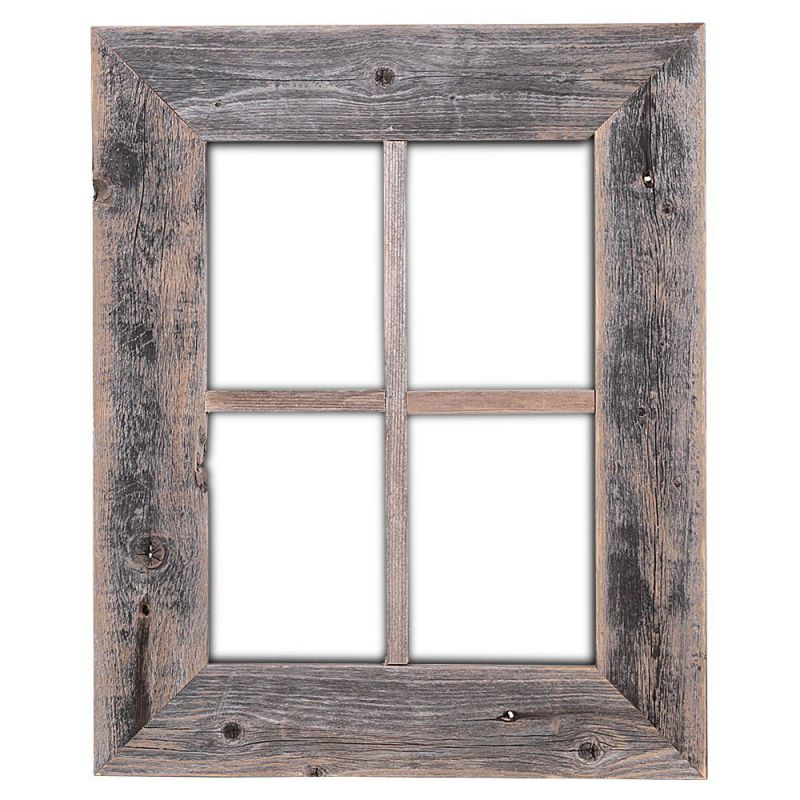Old Rustic Window Barnwood Frames