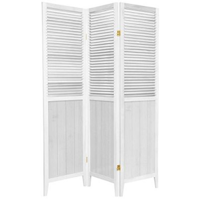 Oriental-Furniture-6-ft.-Tall-Beadboard-Divider-White-3-Panels