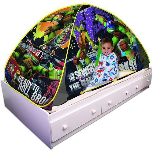 Playhut Teenage Mutant Ninja Turtles Bed Tent Playhouse