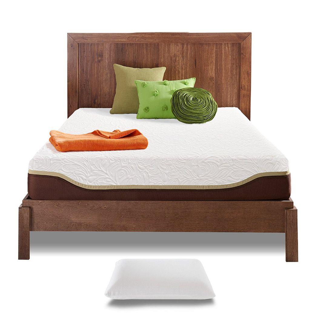 Resort-Sleep-Queen-10-Inch-Gel-Memory-Foam-Mattress-with-Pillow