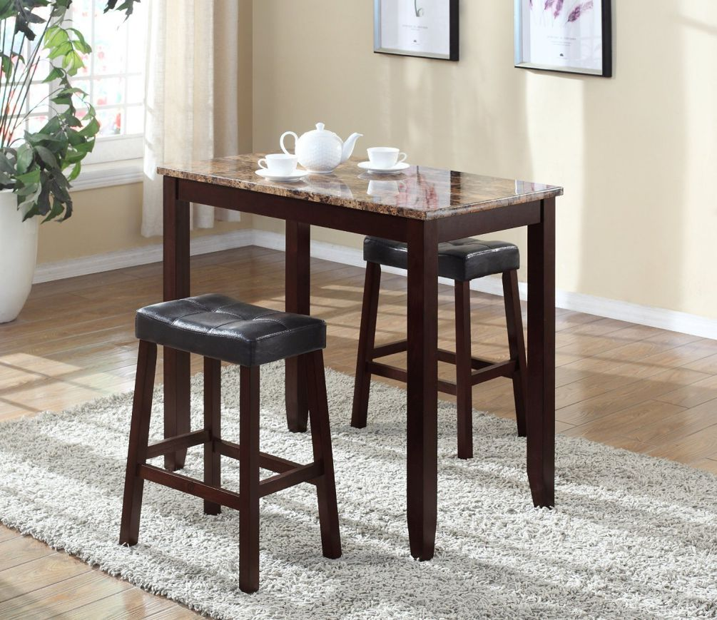 Roundhill-Furniture-3-Piece-Counter-Height-Glossy-Print-Marble-Breakfast-Table-with-Stools