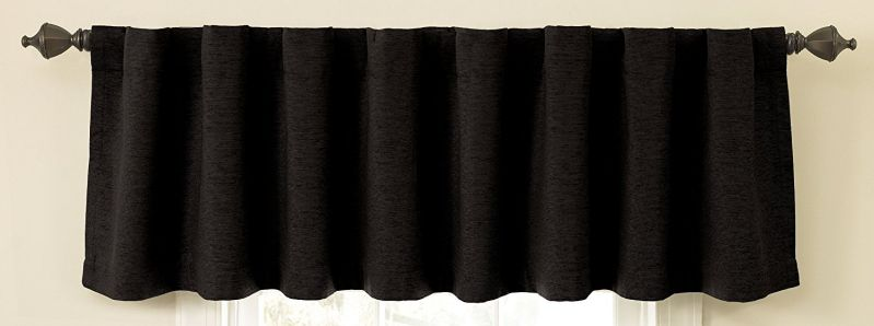 Sound Asleep Room-Darkening Noise-Reducing Backtab Window Valance
