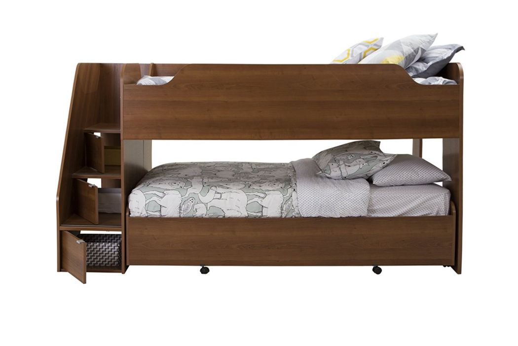 South-Shore-39-in-Mobby-Loft-Bed-with-Trundle-Twin-Morgan-Cherry