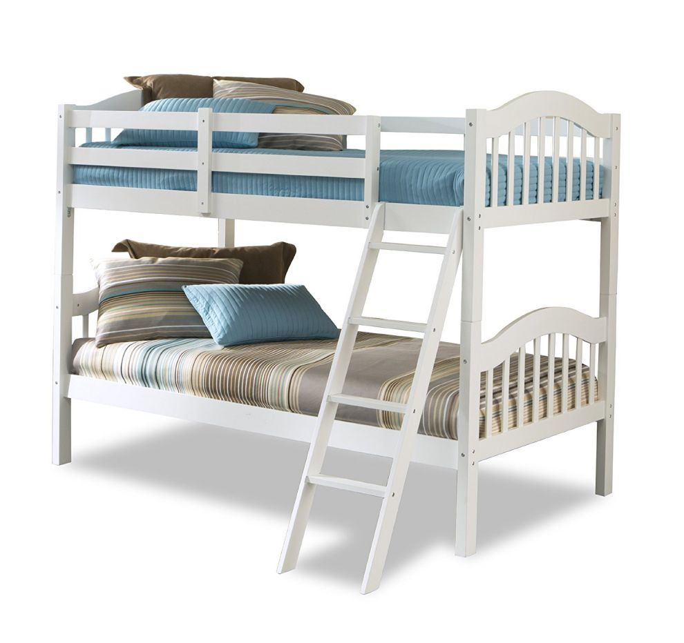 Storkcraft-Long-Horn-Solid-Hardwood-Twin-Bunk-Bed-White