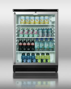 Summit-SCR600BLSH-Compact-Glass-Door-Commercially-Approved-Beverage-Refrigerator