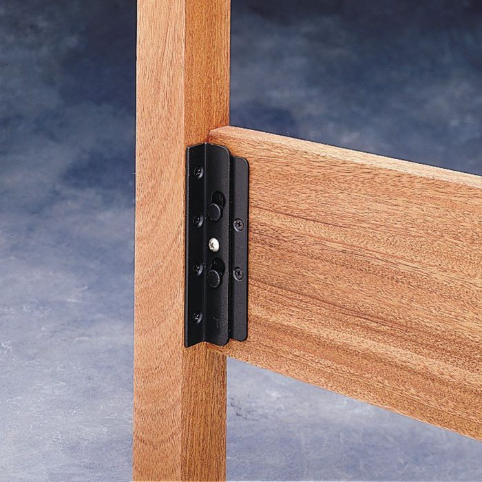 Surface-Mounted-Keyhole-Bed-Rail-Brackets