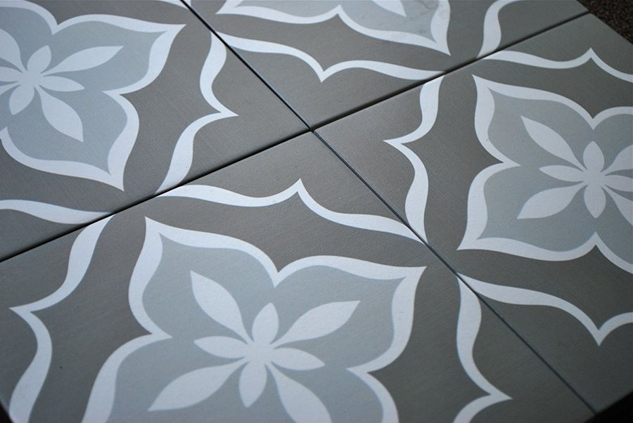 8x8-Flora-Antique-Grey-Porcelain-Stoneware-Floor-and-Wall-Tile