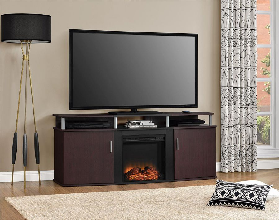 Altra-Furniture-Carson-Fireplace-TV-Console-70-in-Cherry-Black