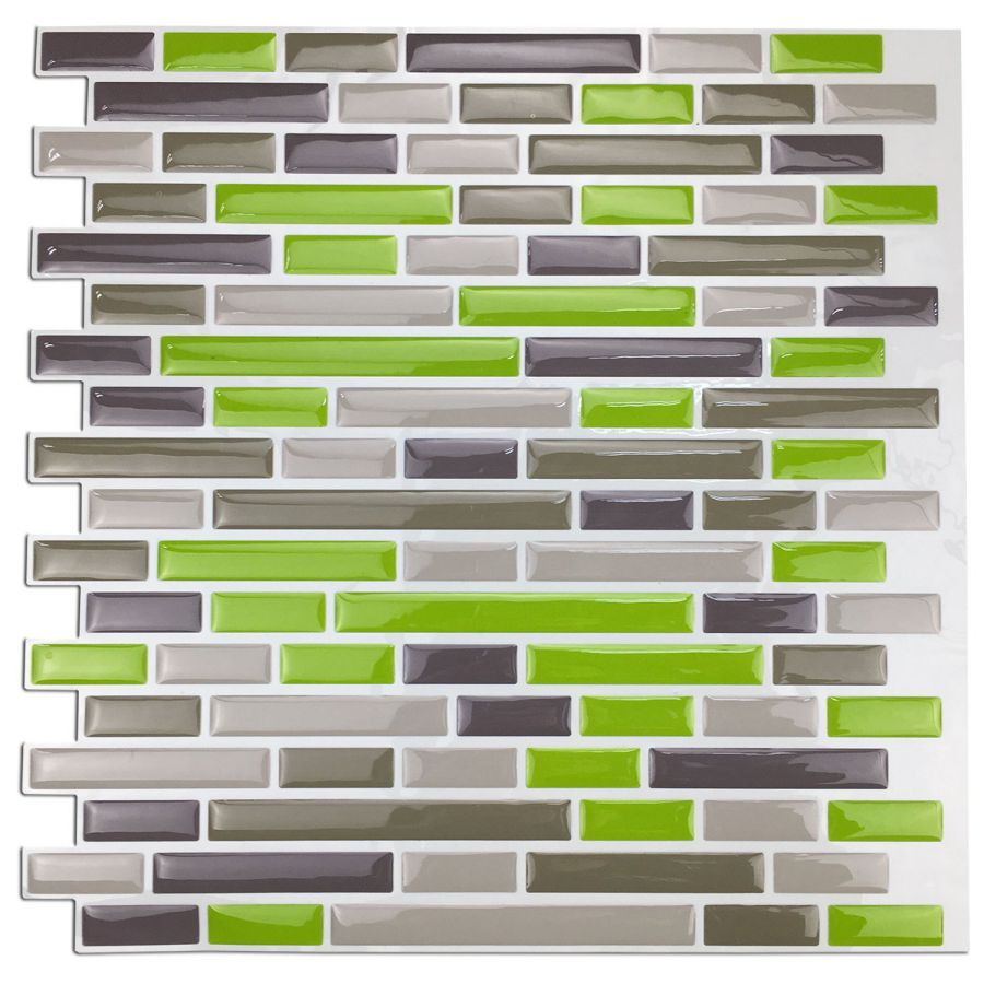 Art3d-Kitchen-Backsplash-Peel-and-Stick-Tile-Smart-Green-Brick-Design