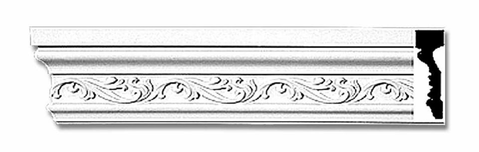 Crown-Molding-White-Urethane-Savannah-Ornate-Renovators-Supply