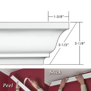 EZ-A-Peel-ECM212-2.5-in.-Easy-Crown-Molding