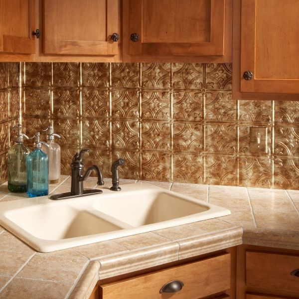 Fasade-Easy-Installation-Traditional-1-Bermuda-Bronze-Backsplash-Panel-for-Kitchen-and-Bathrooms