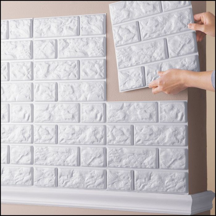Faux-Brick-Wall-Tile-Decals-Set-of-6-White