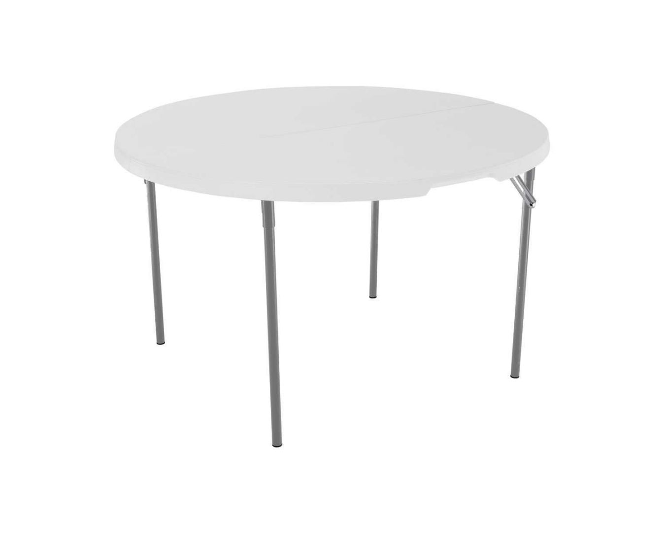Lifetime-280064-Commercial-Fold-In-Half-Round-Table-4-Feet-White-Granite