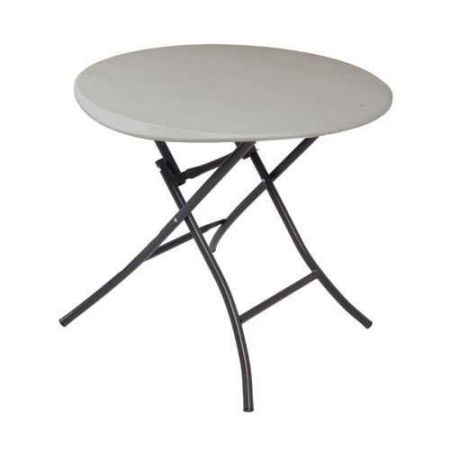 Lifetime-80230-Folding-Round-Table-33-Inch-Putty
