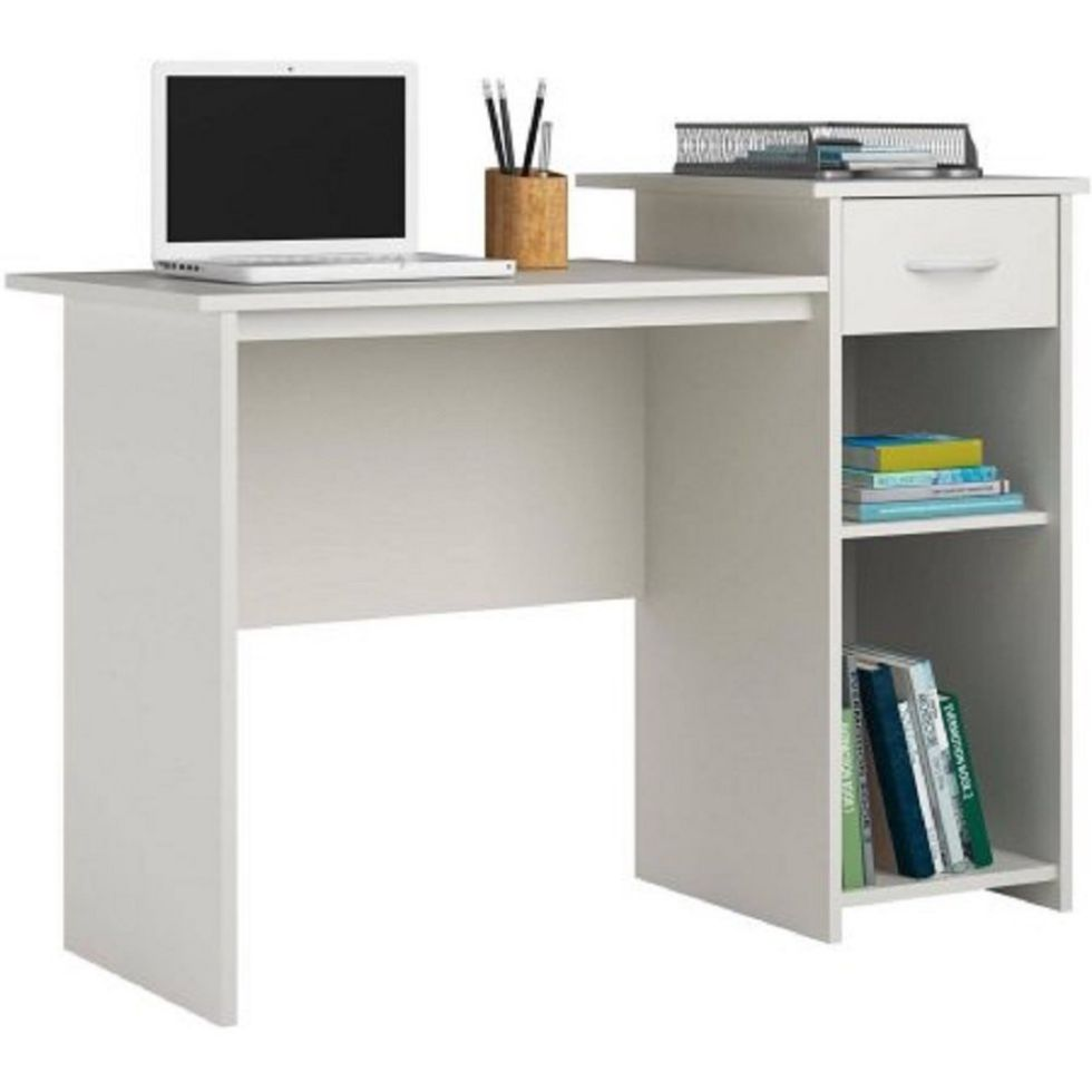 Mainstays-Student-Desk-White-Finish-Home-Office-Bedroom-Furniture-Indoor-Desk-Easy-Glide-Accessory-Drawer