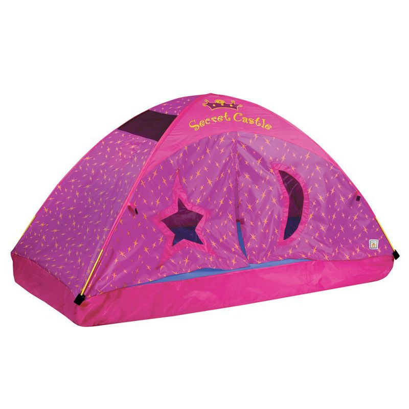 Pacific-Play-Tents-Kids-Secret-Castle-Bed-Tent-Playhouse-Twin-Size