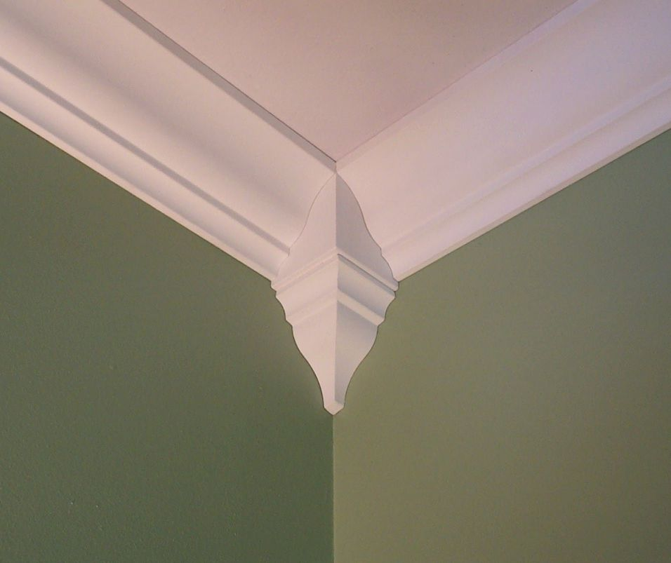 Package-of-4-Crown-Molding-Corner-Inside-Block-Fits-Crown-Molding