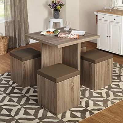Simple-Living-5-piece-Baxter-Dining-Set-with-Storage-Chair-Ottomans-1