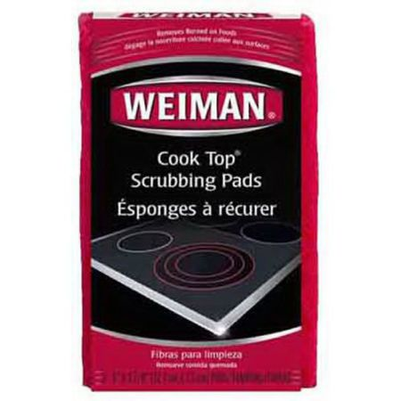 Weiman-Cook-Top-Scrubbing-Pads-–-Gently-Clean-and-Remove-Burned-on-Food-from-All-Smooth-Top-and-Glass-Cooktop-Ranges-3-reusable-pads