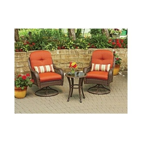 3-Piece Outdoor Furniture Set, Better Homes and Gardens Azalea Ridge 3-Piece Outdoor Bistro Set, Seats 2