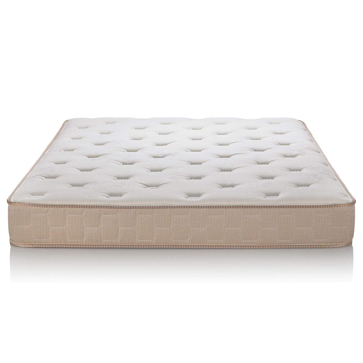 Englander Finale 10-Inch Innerspring Mattress - Enjoy a Super Soft & Comfy Sleep - Ideal for Kids & Guest Beds - The Best Cheap Mattress for a Peaceful Night's Sleep - Beige - Twin - Made in USA