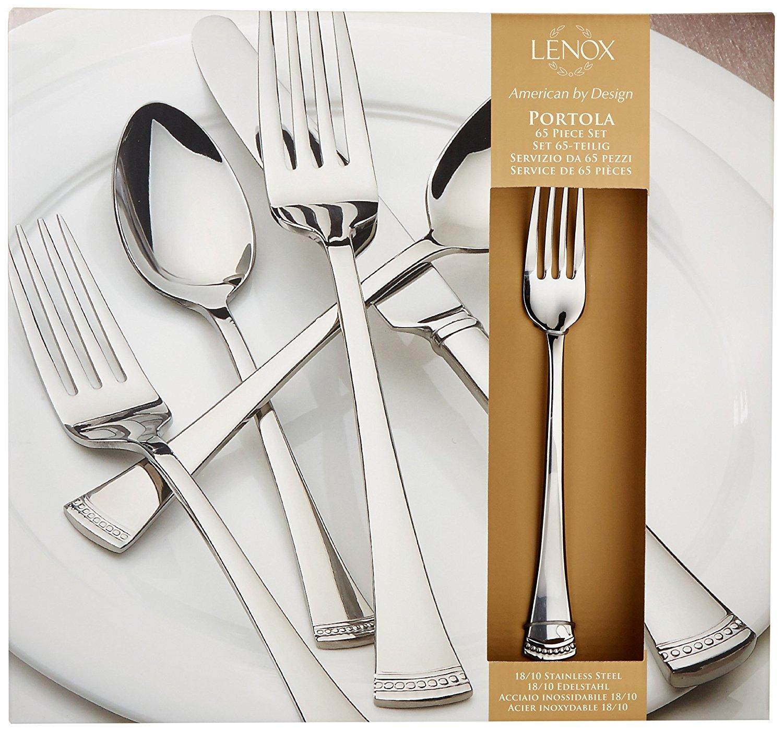 Lenox Portola 65-Piece Flatware Set